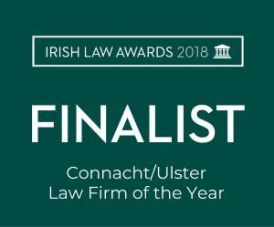 Connacht Ulster Law Firm of the Year 2018